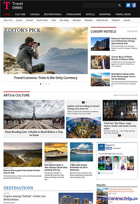 travel-news-wordpress-theme