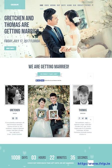 CuckooLove-Wedding-WordPress-Theme