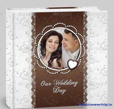 Wedding Photo Album Milk Chocolate
