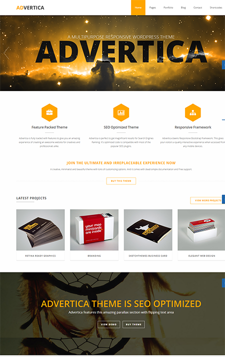 advertica responsive wordpress theme