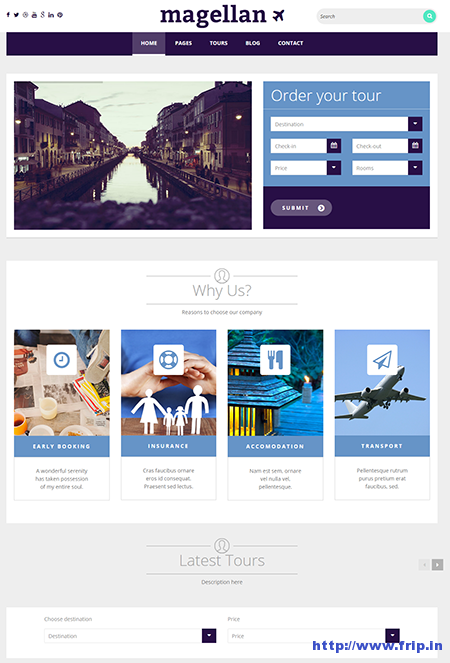 magellan wordpress theme