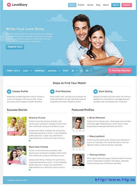 Love-Story-Dating-WordPress-Theme
