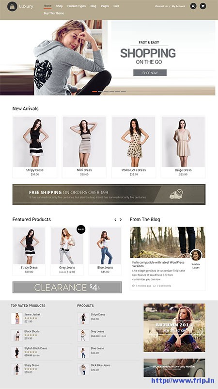 Luxury-eCommerce-WordPress-Theme