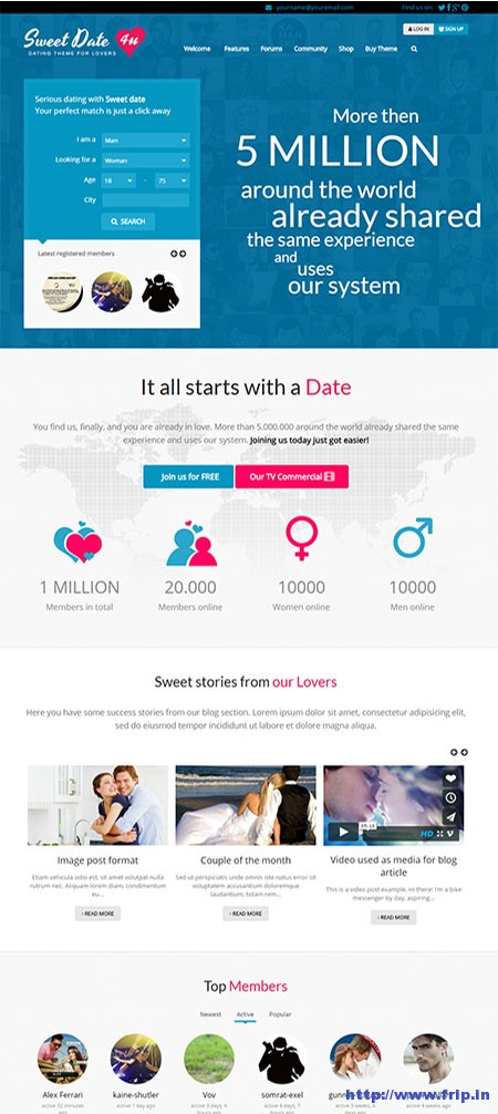 Sweet-Date-WordPress-Dating-Theme