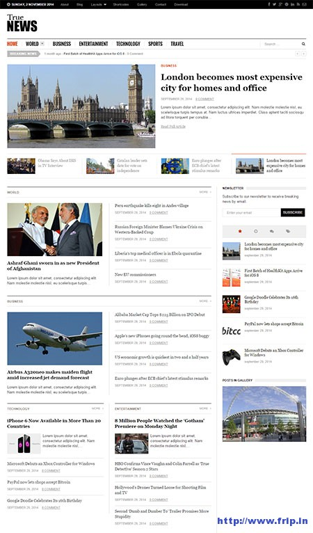 True-News-WordPress-Theme