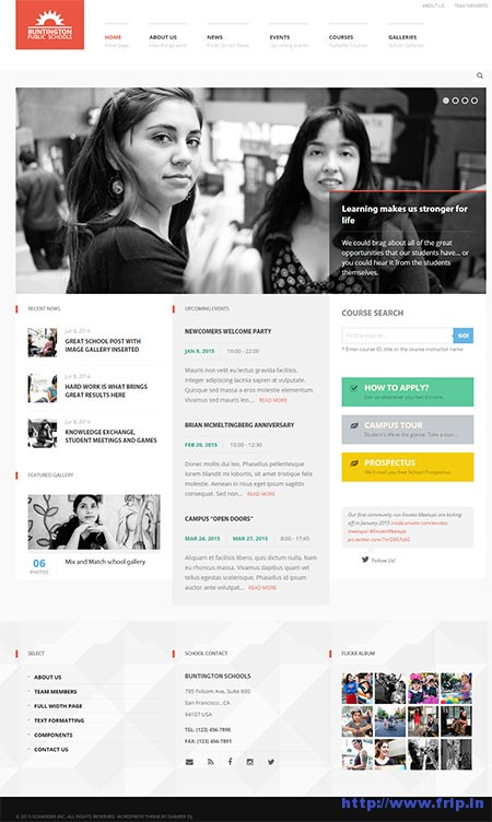 Buntington-Education-WordPress-Theme