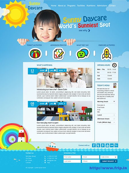 DayCare-Kindergarten-WordPress-Theme