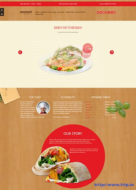 Gourmet-Hotel-WordPress-Theme