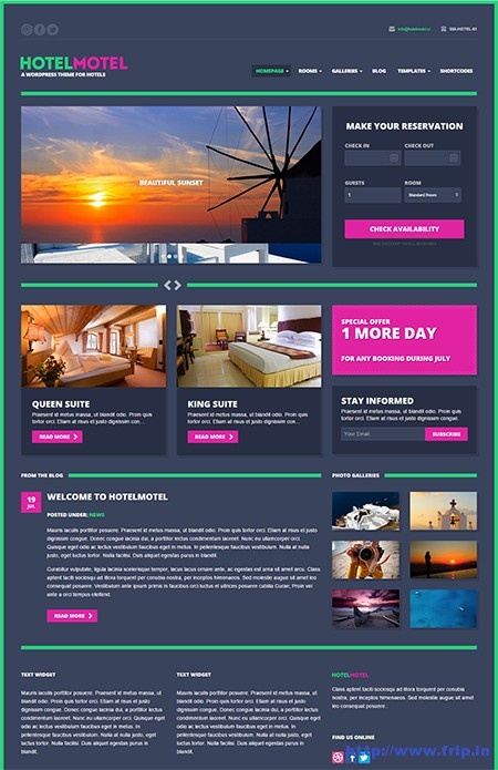 Hotel-Motel-WordPress-Theme