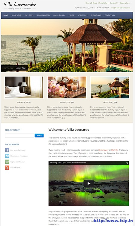 Leonardo-Hotel-WordPress-Theme