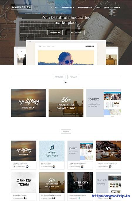 Marketify-Marketplace-WordPress-Theme