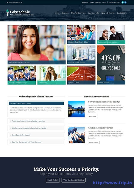 Polytechnic-Education-WordPress-Theme