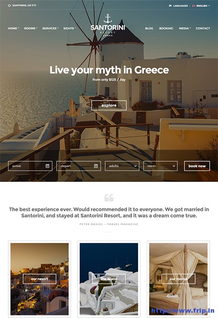 Santorini-resort-Hotel-WordPress-Theme