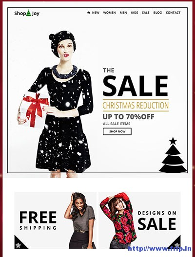 Shop-&-Joy-Holiday-Email-Template