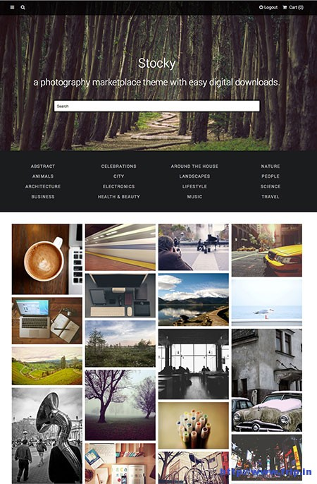 Stocky-Stock-Photography-Marketplace-Theme