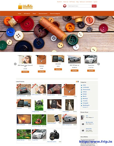 Walleto-WordPress-Marketplace-Theme