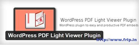 WordPress-PDF-Light-Viewer-Plugin