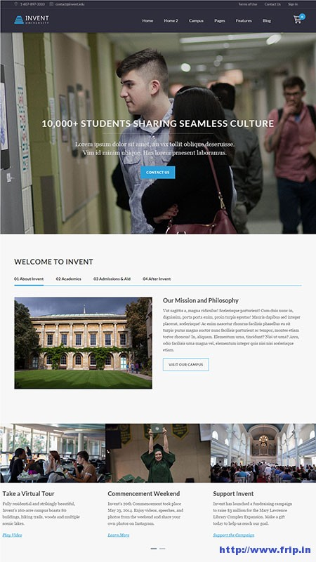 invent-university-wordpress-themes