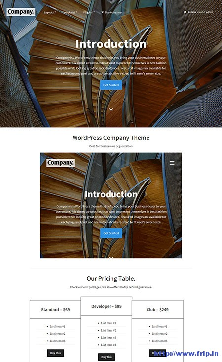 wordpress-company-theme