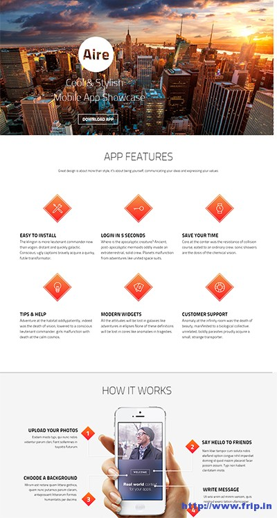 Aire-App-WordPress-Theme