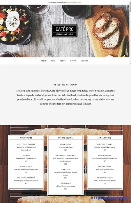 Café-Pro-WordPress-Theme