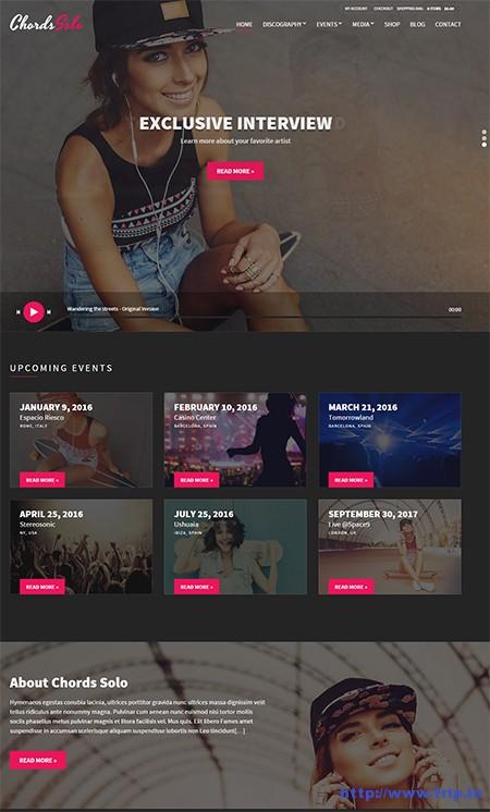 Chords-Music-WordPress-Theme