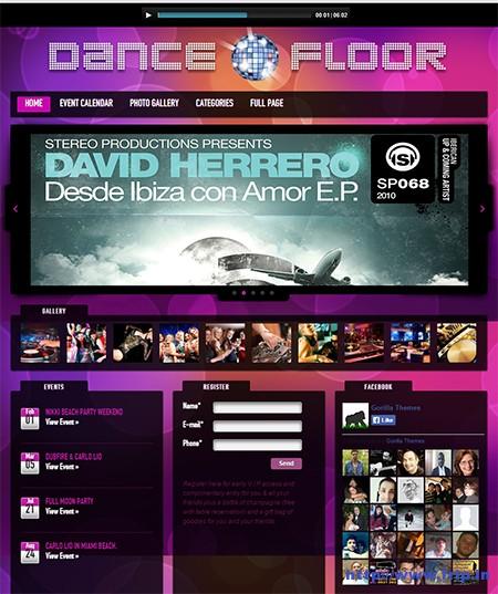 Dance-Floor-DJ-WordPress-Theme
