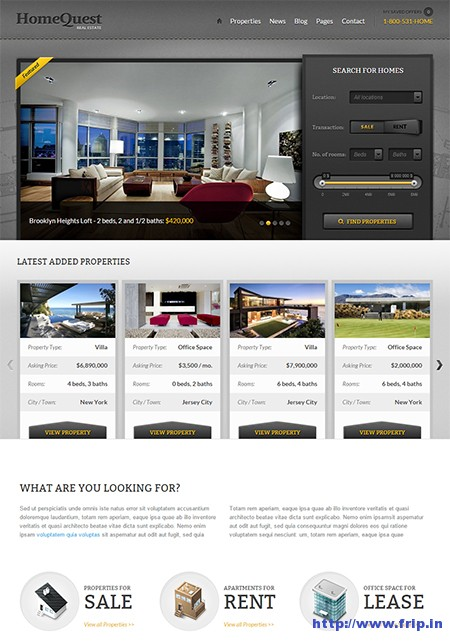 HomeQuest-WordPress-Theme