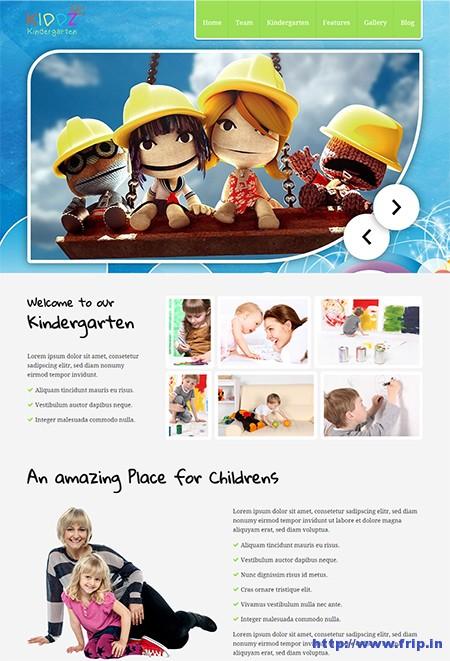 Kiddz-Kindergarten-WordPress-Theme