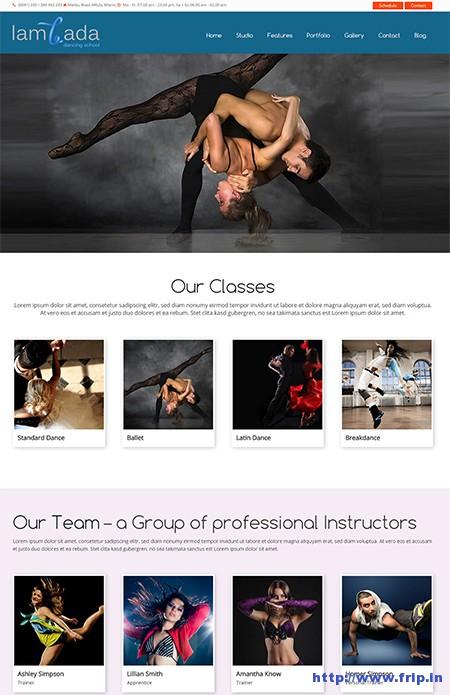 Lambada-Dance-Studio-&-Schools-WordPress-Theme