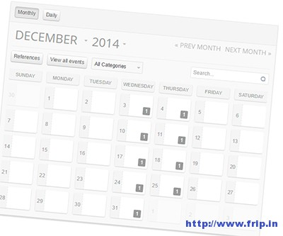 Lite-Event-Calendar-Plugin