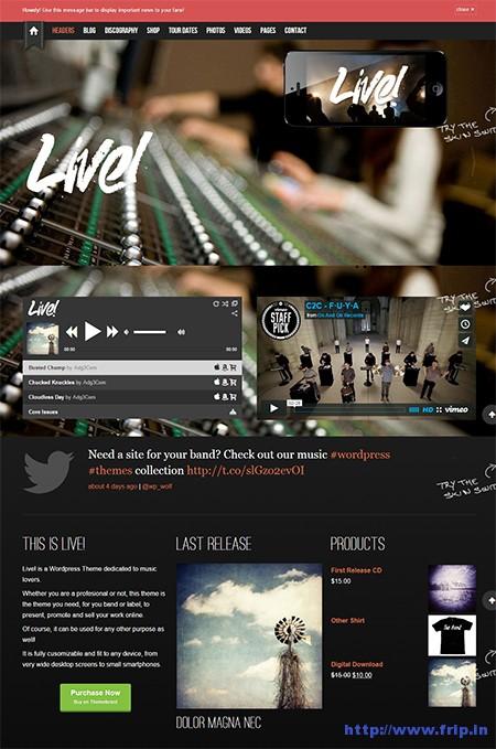 Live-Music-WordPress-Theme