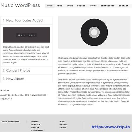 Music-Musicians-Artists-WordPress-Theme