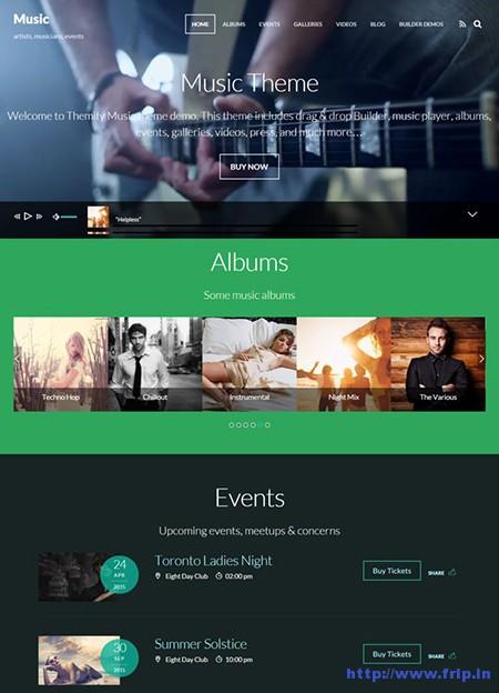 Music-Responsive-WordPress-Theme