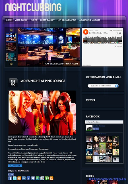 NightClubbing-WordPress-Theme