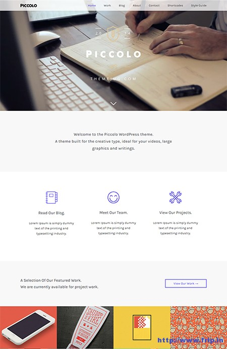 Piccolo-Fullscreen-Video-WordPress-Theme