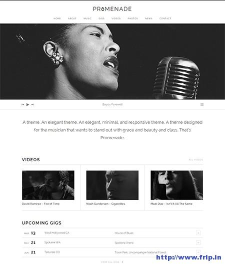 Promenade-Music-WordPress-Theme