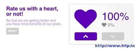 Purple-Heart-Rating-Plugin