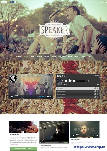 Speaker-One-Page-WordPress-Theme