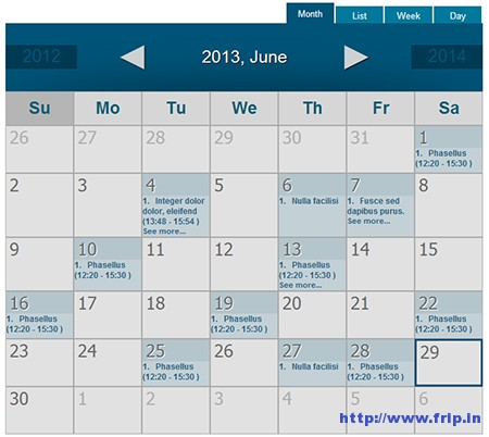 Spider-Event-Calendar-Plugin