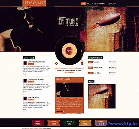 Tuned-Ballon-Music-WordPress-Theme