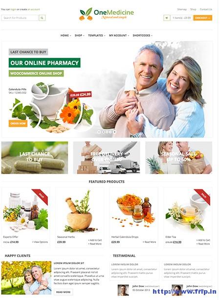 123Medicine-eCommerce-WordPress-Theme