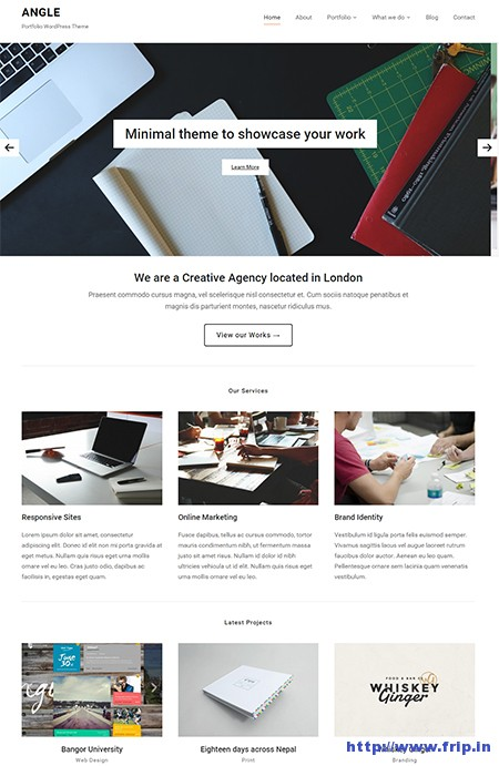 Angle-Portfolio-WordPress-Theme