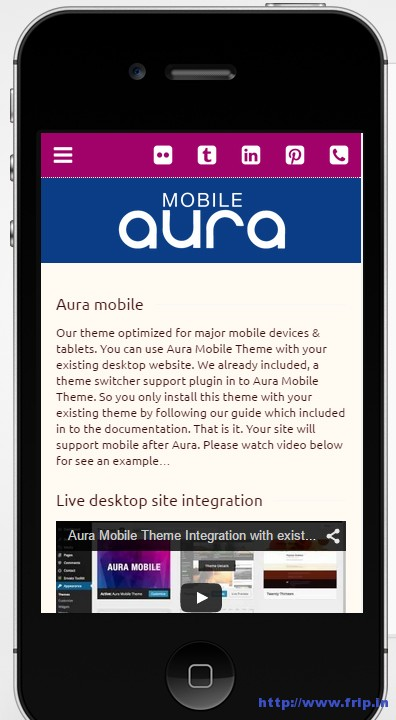Aura-Mobile-wordpress-theme