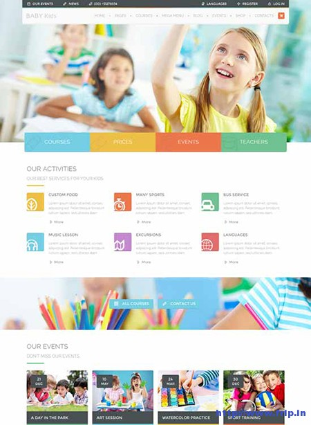 Baby-Kids-Children-WordPress-Theme
