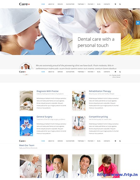 Care-Medical-WordPress-Theme