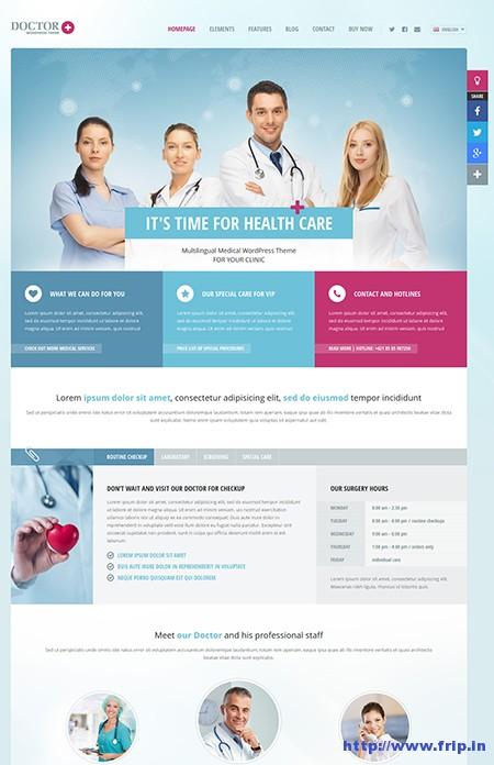Doctor+-Responsive-WordPress-Theme