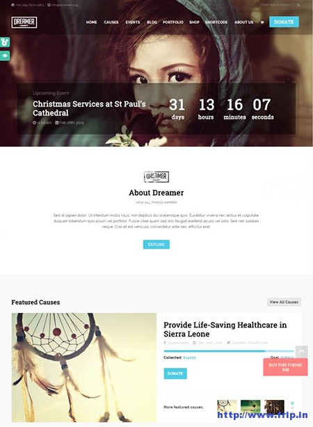 Dreamer-Charity-WordPress-Theme