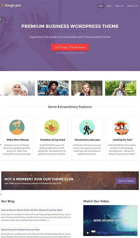 Foogo-Pro-WordPress-Business-Theme