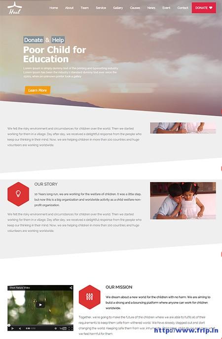 Heal-Charity-WordPress-Theme
